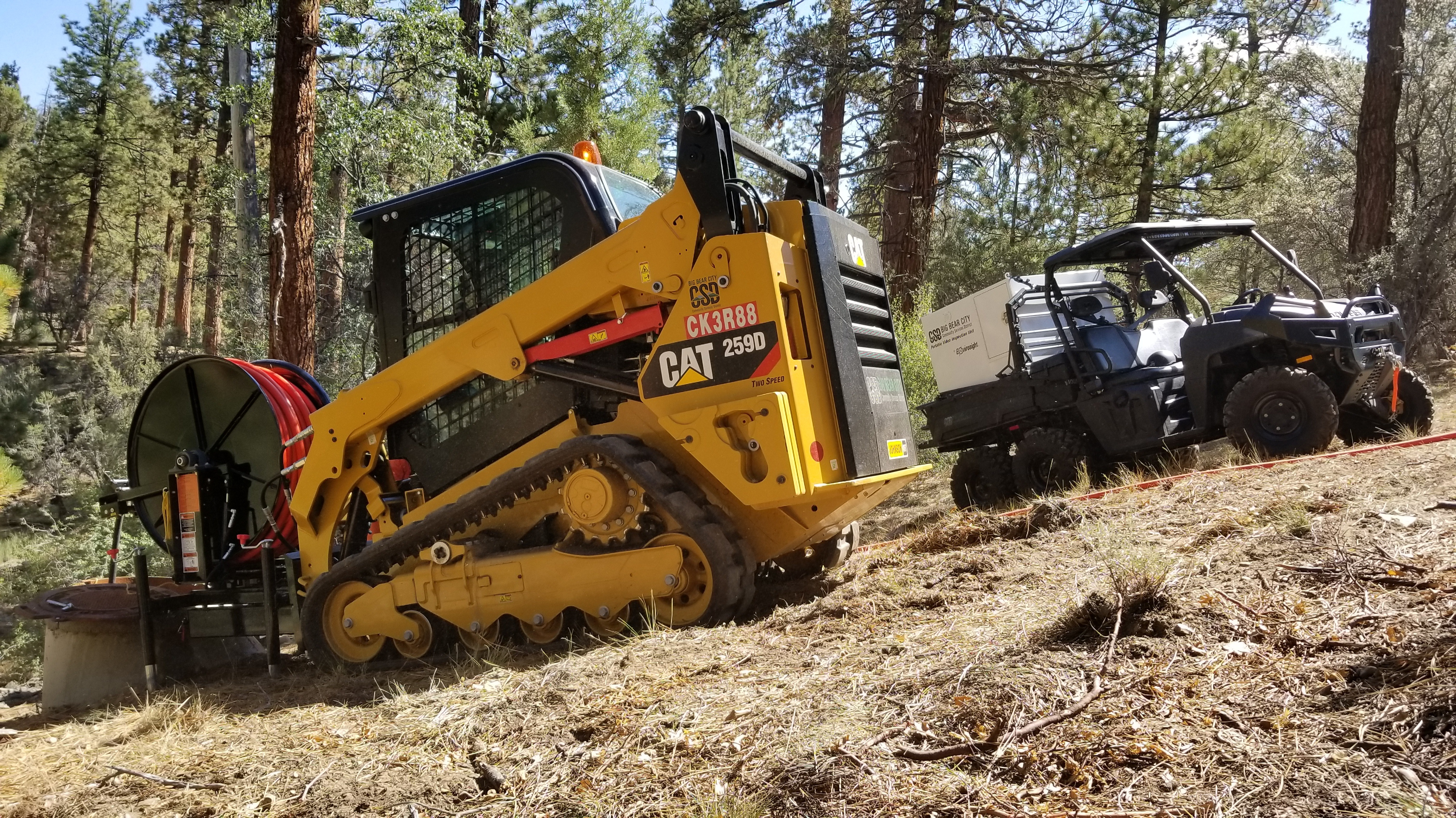 Big Bear WinCan Web equipment
