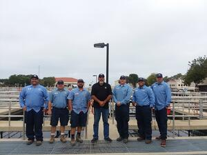 San Clemente Inspection Team