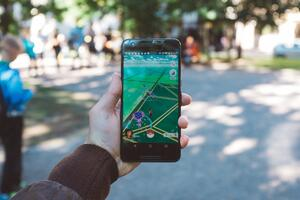 AR and VR Gaming App Pokemon Go