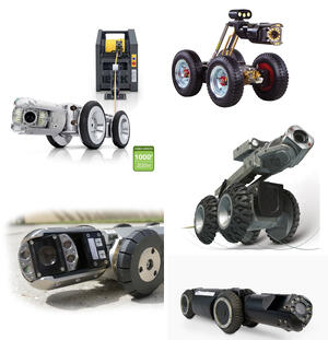 Sewer Inspection Crawlers