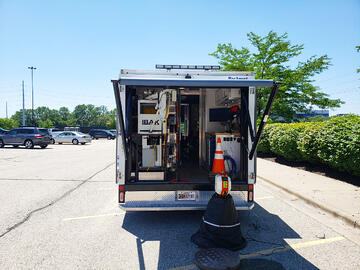 Culy Contracting wastewater inspection truck