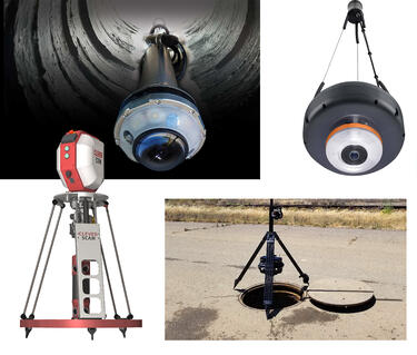 Sewer Inspection Manhole scanners